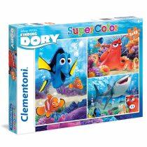 Puzzle Hledá se Dory - 3 x 48 dílků