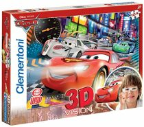 3D puzzle Cars 2 - 104 dílků