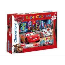 Maxi Puzzle Cars - 104 dílků