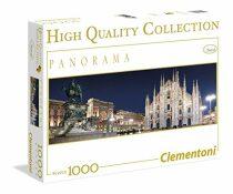 Panoramatické puzzle Miláno - 1000 dílků