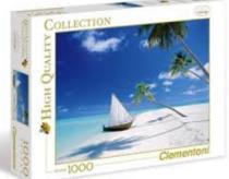Puzzle Maledive - 1000 dílků