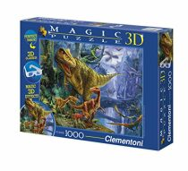 3D puzzle Dino Valley - 1000 dílků