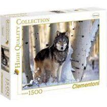 Puzzle vlk v zimě - 1500 dílků