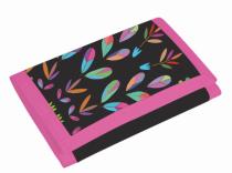 Dětská textilní peněženka Junior fashion kytky