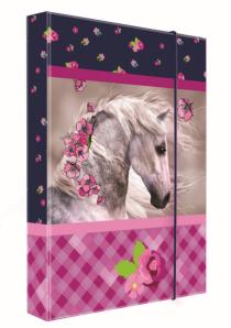Heft box A4 Junior kůň
