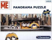 Panoramatické puzzle Mimoni v New Yorku - 1000 dílků