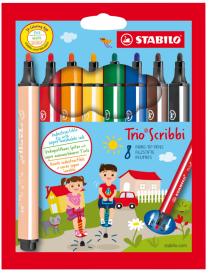 STABILO fixy Trio Scribbi 8 ks