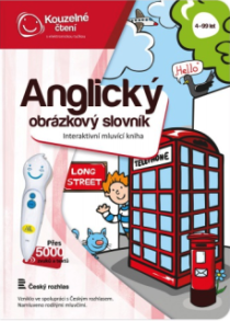 Anglický obrázkový slovník - Kouzelné čtení Albi