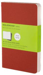 Moleskine - Notesy 3 ks - červené S