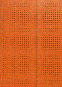 Zápisník Paper-oh - Circulo Orange on Grey A7 čistý