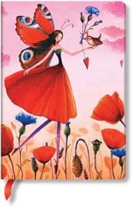 Zápisník Paperblanks - Poppy Field - Midi linkovaný