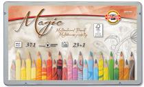 Koh-i-noor pastelky MAGIC multibarevné 23+1 ks v sadě