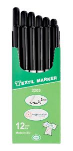 Značkovač textil černý 3203