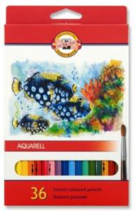 Akvarelové pastelky Aquarell 36 ks 3719