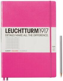 Zápisník Leuchtturm1917 Master Slim New Pink čtverečkovaný