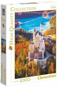 Puzzle Zámek Neuschwanstein - 1000 dílků