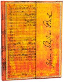 Zápisník Paperblanks Bach, Cantata - Ultra, linkovaný