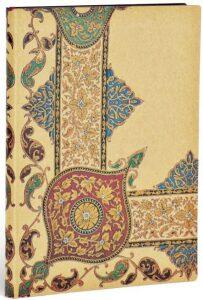 Zápisník Paperblanks Visions of Paisley Ivory Kraft - Ultra, linkovaný