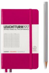 Zápisník Leuchtturm1917 Berry Pocket čtverečkovaný