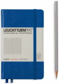 Zápisník Leuchtturm1917 Royal Blue Pocket čtverečkovaný