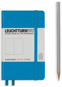 Zápisník Leuchtturm1917 Azure Pocket tečkovaný