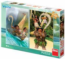 Puzzle Vaiana - 2x66 dílků