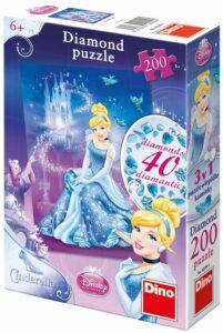 Popelka - Diamond puzzle - 200 dílků