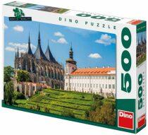 Puzzle Chrám sv. Barbory - 500 dílků