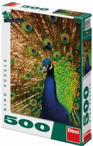 Puzzle Páv - 500 dílků