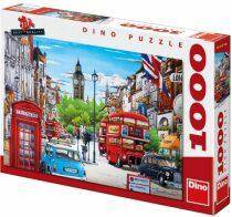 Puzzle Život v Londýně - 1000 dílků