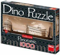 Panoramatické puzzle Pohled na Pisu - 1000 dílků
