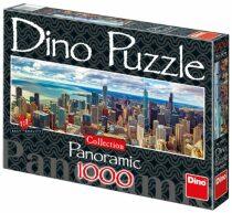 Panoramatické puzzle Chicago - 1000 dílků