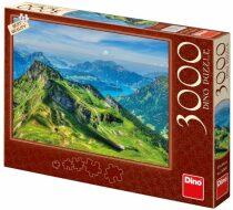 Puzzle Švýcarsko - 3000 dílků