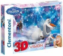 3D puzzle Ledové království - 104 dílků