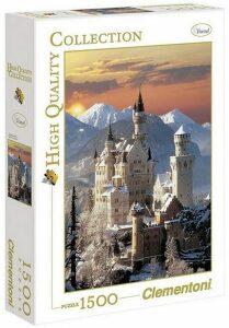 Puzzle zámek Neuschwanstein - 1500 dílků