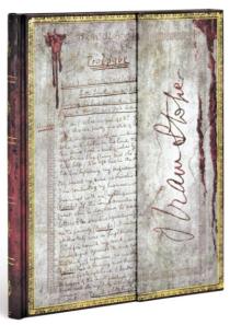 Zápisník Paperblanks - Embellished Manuscripts - Bram Stoker, Dracula - ultra, linkovaný