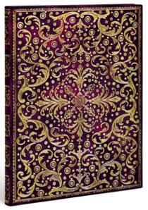 Zápisník Paperblanks - Rococo gold tooling - Aurelia - ultra, linkovaný