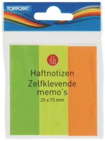 Bloček lepící 3x50ks mix barev