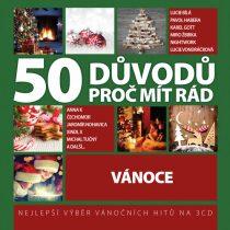 50 důvodů proč mít rád vánoce - 3CD