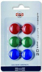 Magnety kulaté 20 mm - 6 kusů