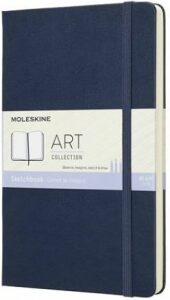 Moleskine: Skicář tvrdý modrý L