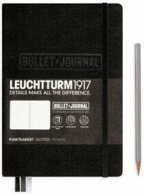 Bullet Journal Leuchtturm1917 - Black Medium tečkovaný