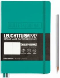 Bullet Journal Leuchtturm1917 - Emerald Medium tečkovaný