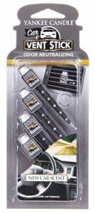 Vonné kolíčky do auta Yankee Candle - New Car Scent
