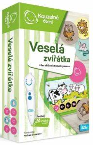 Kouzelné čtení - Veselá zvířátka - Pexeso