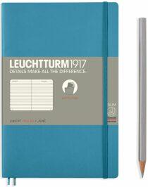 Zápisník Leuchtturm1917 Paperback Softcover Nordic Blue linkovaný