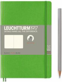 Zápisník Leuchtturm1917 Paperback Softcover Fresh Green čistý