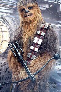 Plakát Star Wars Episode VIII Chewbacca Bowcaster 61 x 91 cm