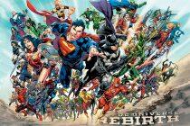 Plakát Justice League Rebirth 61 x 91 cm