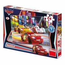 Puzzle Cars noční závod